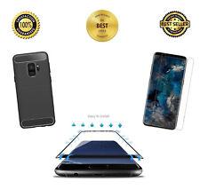 be88f48ce5c Samsung Galaxy S9+ Plus Carcasa, Cubierta de cuerpo completo con construido  en protector de pantalla