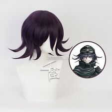 Danganronpa V3: Killing Harmony Ouma Kokichi Purple Layered Hair Cosplay Wigs