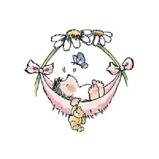 PENNY BLACK RUBBER STAMPS BABY HAMMOCK STAMP