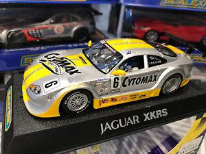 SCALEXTRIC JAGUAR XKRS CYTOSPORT No 6 Greg Pickett C2761 New In Box