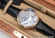 BREGUET TRADITION MANUAL WIND 40MM 18K ROSE GOLD 7057BR/G9/9W6 MENS WATCH