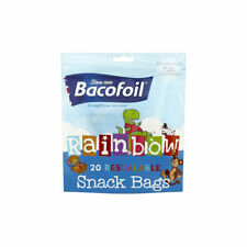 Baco Baco Rainbow Resealable Snack Food Bags x 40