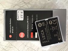 LEICA ION-LITHIUM BATTERY BP-DC10 FOR DLUX 5-6-  REF 18719 - NEW