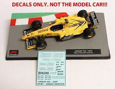 DECALS HEINZ - HARALD FRENTZEN JORDAN Benson & Hedges 1:43 Formula 1 Collection
