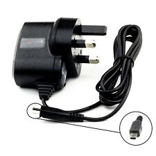 UK MAINS CHARGER FOR NAVMAN MIO 685 687 689 GPS SAT NAV HOUSE HOME WALL CHARGER