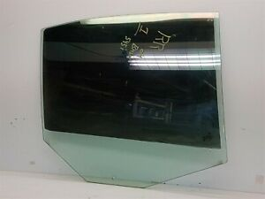 OEM BMW 545I E65 2004-2005 Rear Right Door Window Glass Tinted