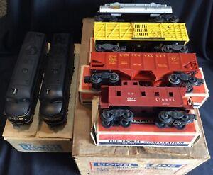 Lionel Postwar 1467W Set - 2032 Erie AA Locos, 6656, 6465, 6476 & 6257 W/BOXES