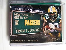Eddie Lacy 2013 Prestige Draft City Rookie Card Green Bay Packers NFL FOOTBALL