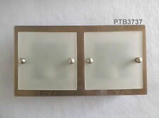 ORLIGHT DOUBLE WALL FIXTURE LIGHT FITTING WITH LAMPS G9 GLASS FRONT