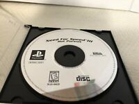Need for Speed III: Hot Pursuit - PS1 Sony PlayStation 1-1998 DISC ONLY - Tested