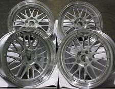 "ALLOY WHEELS X 4 19"" SILVER RTLM FOR BMW 1 + 3 SERIES E46 E90 E91 E92 Z3 Z4 M12"