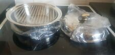 Limited Edition Gold Seal!! Saladmaster 10 in. Deep Skillet With Utility Rack.
