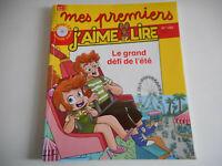 MES PREMIERS J'AIME LIRE / LE GRAND DEFI DE L'ETE N°180 AOUT 2017 ( sans cd )