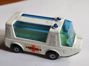 Vintage Matchbox Superfast No. 46 Stretcha Fetcha Ambulance 1971 Lesney