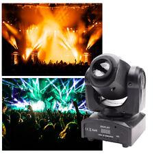 30W RGBW Spot  GOBO Lampe de théâtre  LED Moving Head DMX Disco DJ Party Light