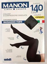 COLLANT COMPRESSIONE GRADUATA 140 DEN- NERO COPRENTE - CALZE SANITARIE RIPOSANTI
