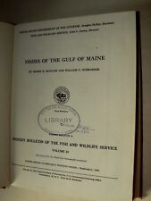 Livre Ancien Fish of the Gulf of Maine Peche 1953 Book Fishing Poisson USA