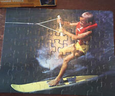 Whitman Junior Guild WATER SKIING 63 pc puzzle Vintage Complete