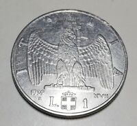 1 LIRA 1939 IMPERO XVII ANTIMAGNETICA OTTIMO FDC