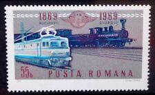 ROMANIA 1969 Railways Centenary Locomotives. Set of 1. Mint Never Hinged. SG3679