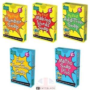 Maths Word Snap Plus Four Function Pairs Card Games Times Tables My First Games