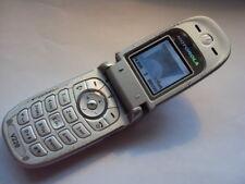 Facile a buon mercato anziani bambini anziani telefono cellulare Motorola V220 su O2 Tesco Giffgaff