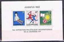 Luxemburg postfris 1969 MNH block 8 - Juventus (S0153)
