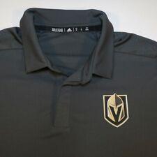 ADIDAS Las VEGAS GOLDEN KNIGHTS VGK NHL HOCKEY POLO GOLF SHIRT Sz Mens XL