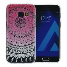 Henna Cover For Samsung Galaxy Xcover 4s Case Silicone Case Sun Pink New