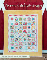 Farm Girl Vintage by Lori Holt of Bee in my Bonnet 2015 It's Sew Emma Book