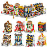 1 of 8 City View Street Set Architecture Building Blocks Legoin Educational Toys