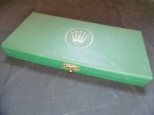 ROLEX Scatola Watchmaker BOX for accessories and spare parts RARE vintage 80's