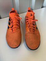 Adidas Astro Turf,  Football Trainers Size Uk 11 Bright Orange