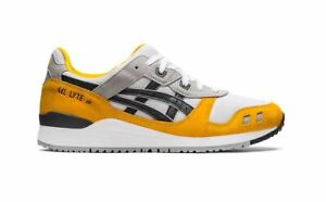 Asics Men's GEL-LYTE III OG Shoes NEW AUTHENTIC Sunflower/Grey 1201A482 800