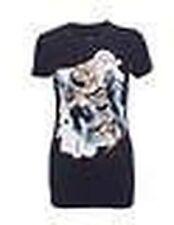 Camisetas de mujer de color principal negro talla XS