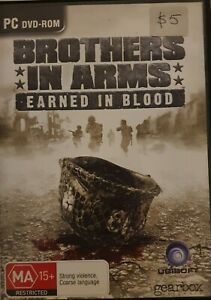Brothers In Arms: Earned In Blood ~ PC DVD-ROM game ~ FREE postage!!