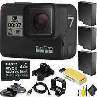 GoPro HERO7 Black HD Waterproof Action Camera Deluxe Bundle