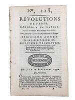 Café Procope Ermenonville en 1790 Girardin Jean Jacques Rousseau Paris Louis 16