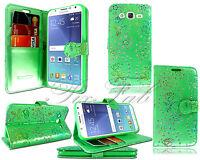 Nuevo Funda Cartera Cuero para Móvil Samsung Galaxy J5 SM-J500F J7 + Vidrio