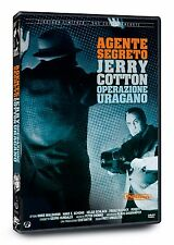 DVD AGENTE SEGRETO JERRY COTTON OPERAZIONE URAGANO  ED. LIMITATA NUMERATA NUOVO