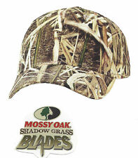 Mossy Oak SHADOW GRASS BLADES Camouflage Camo Hunting Hat Cap-New Pattern