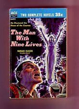 THE MAN WITH NINE LIVES/A TOUCH OF INFINITY (Harlan Ellison/1st US/PBO)