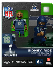 Sidney Rice NFL SUPERBOWL XLVII NFC CHAMPS Seattle Seahawks Football Oyo NEW