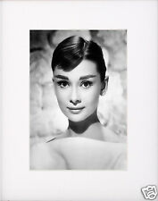 Audrey Hepburn Matted Photo Picture #1b