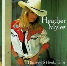 Heather Myles Highways & Honky Tonks CD Country