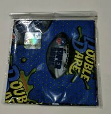 2019 SDCC Exclusive Nickelodeon Double Dare Blue Licensed NFL Bandana Super Bowl