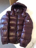 Mens Moncler MAYA Jacket Size 5