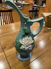"""Roseville Water Lily Large ewer - 12-15"""""""