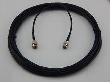 New 30' Black Belden 1855A, Mini RG59 HDTV SDI/HD, Digital Video BNC Male Cable