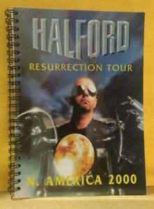 HALFORD – Resurrection – N. America 2000 – Tour Book – Judas Priest